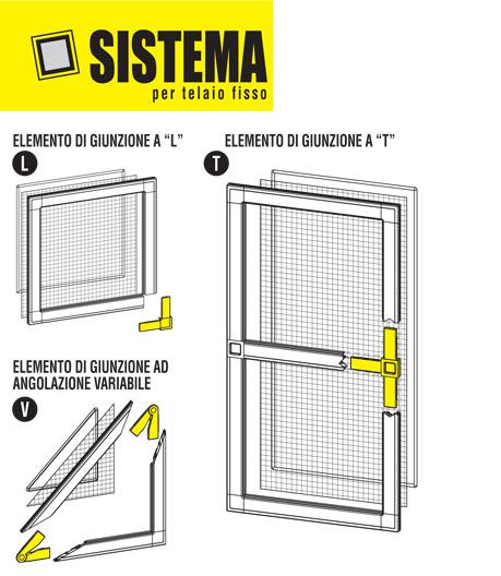 Zanzariera avvolgibile verticale con catenella - Montare telaio porta ...
